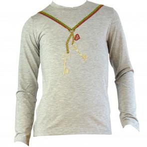 Paesaggino shirt grijs Key