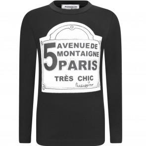 Paesaggino shirt zwart Paris