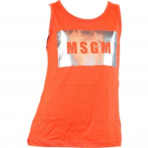 MSGM top oranje logo