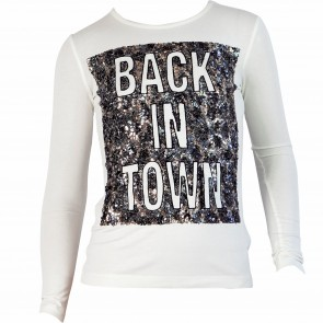 PatriziaPepe shirt wit Back