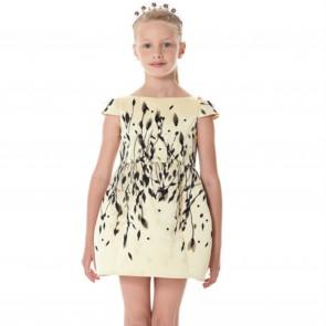 E.Franchi jurk geel
