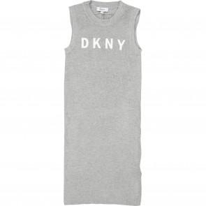 DKNY jurk grijs logo