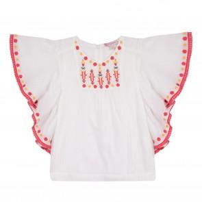 Lili blouse wit griselda