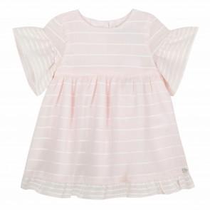 Tartine&Chocolat jurk roze streep