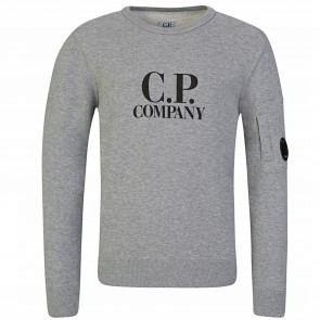 CPCompany sweat grijs logo