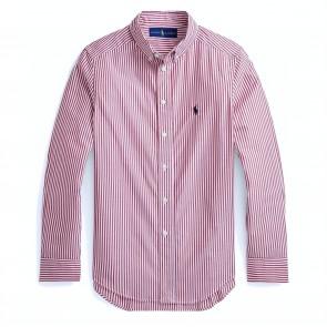 RalphLauren blouse bordeaux streep