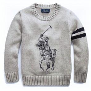 RalphLauren pull grijs polo