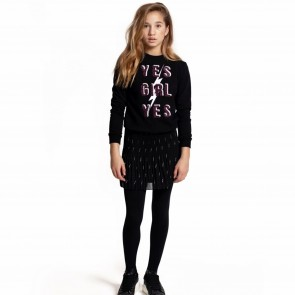 Jacky sweat zwart print