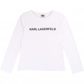 Karl shirt wit logo