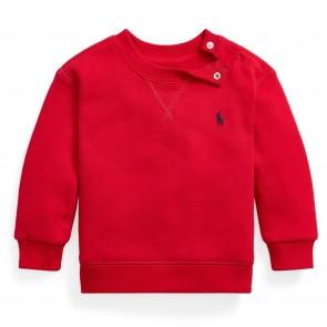 RalphLauren sweat rood logo