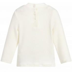 Lili shirt roomwit lazurka
